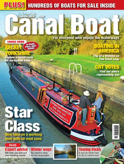 Canal Boat January 05, 2016 00:00