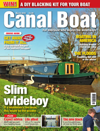 Canal Boat March 2016
