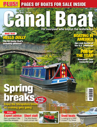 Canal Boat April 2016