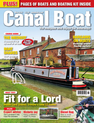 Canal Boat May 2016