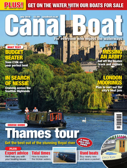 Canal Boat June 01, 2016 00:00