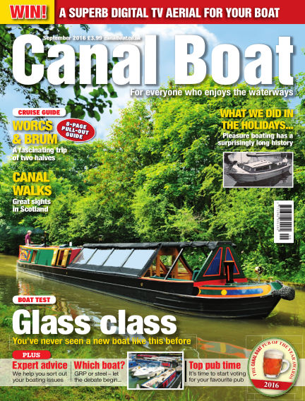 Canal Boat August 03, 2016 00:00