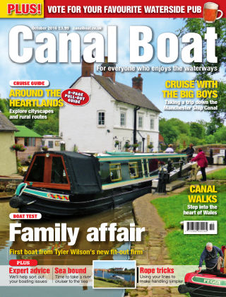 Canal Boat October 2016