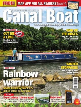 Canal Boat November 2016