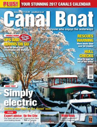 Canal Boat January 2017