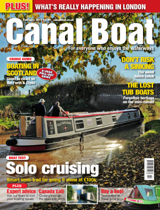 Canal Boat February 2017