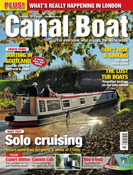Canal Boat January 04, 2017 00:00