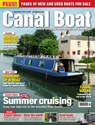 Canal Boat September 2017