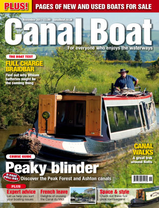 Canal Boat November 2017