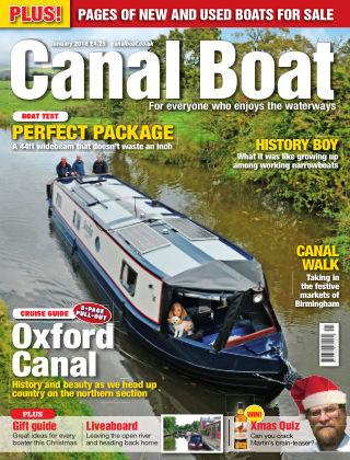 Canal Boat January 2018