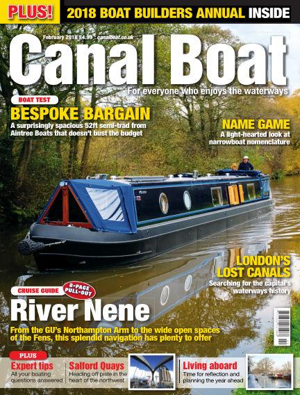 Canal Boat January 03, 2018 00:00