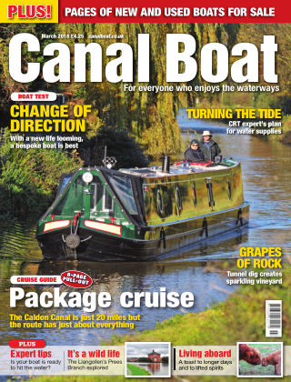 Canal Boat March 2018