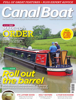 Canal Boat November 2018
