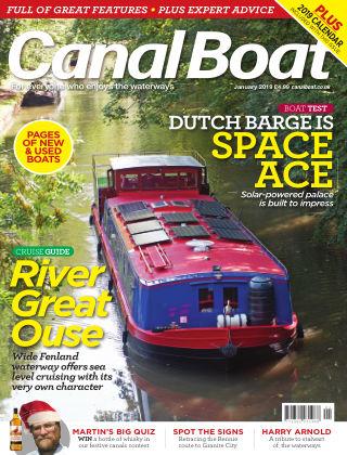 Canal Boat January 2019