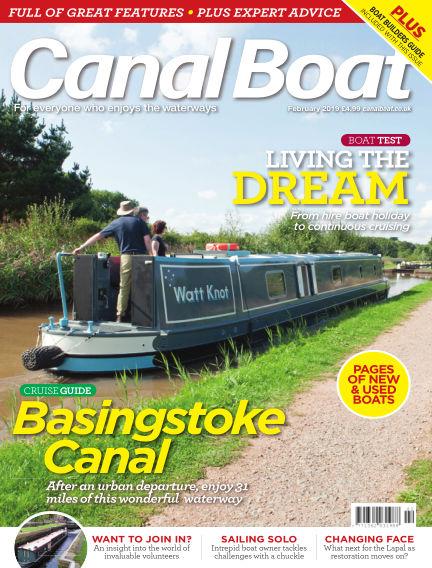 Canal Boat January 03, 2019 00:00