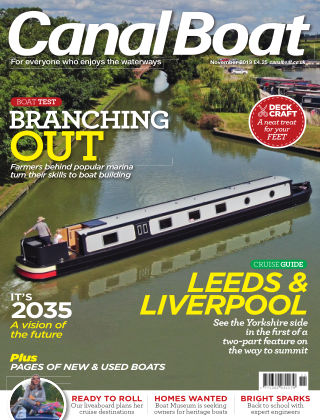 Canal Boat November 2019