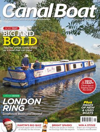 Canal Boat January 2020