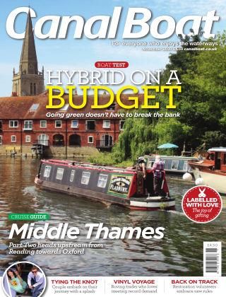 Canal Boat November 2020
