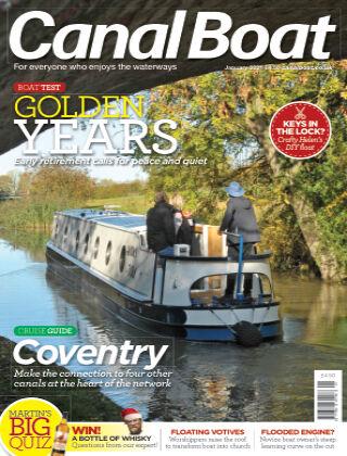 Canal Boat January 2021`