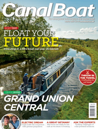 Canal Boat March 2021