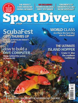 Sport Diver November 2014