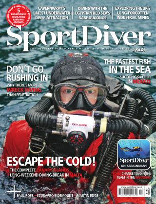 Sport Diver April 2016