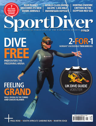 Sport Diver May 2016