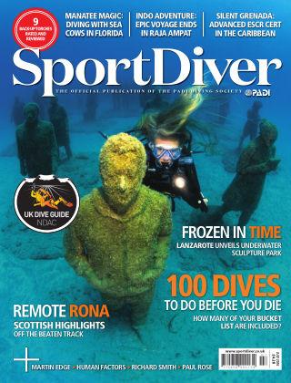 Sport Diver July 2016