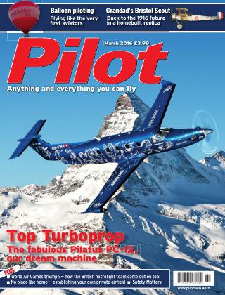 Pilot March 2016