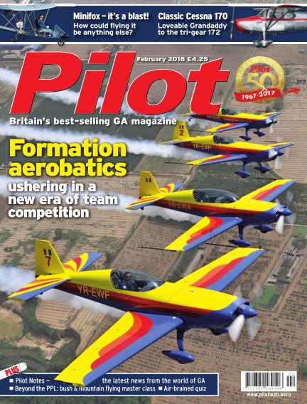 Pilot January 03, 2018 00:00