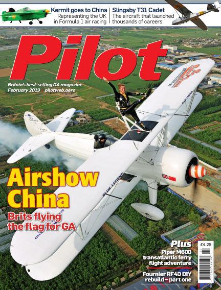 Pilot January 09, 2019 00:00