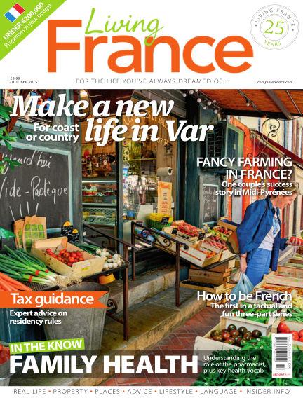 Living France September 23, 2015 00:00