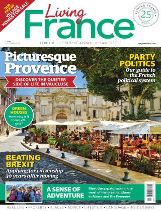 Living France September 2017