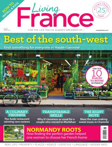 Living France May 09, 2018 00:00