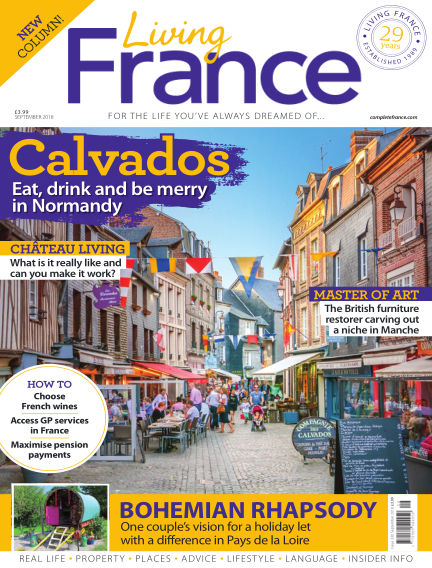 Living France August 01, 2018 00:00