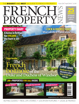 French Property News April 2018
