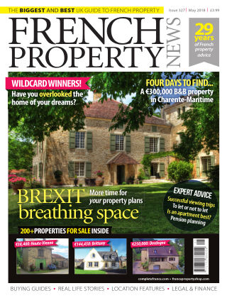 French Property News May 2018