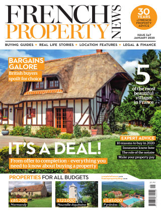French Property News January 2020