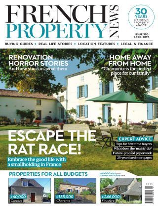 French Property News April 2020