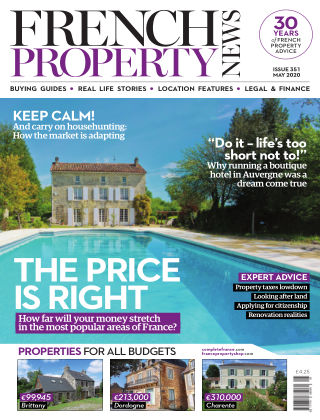 French Property News May 2020