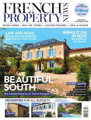French Property News November 2020