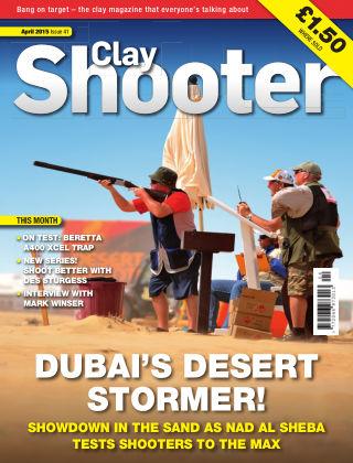 Clay Shooter April 2015