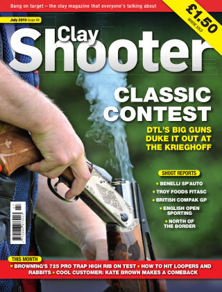 Clay Shooter July 2015