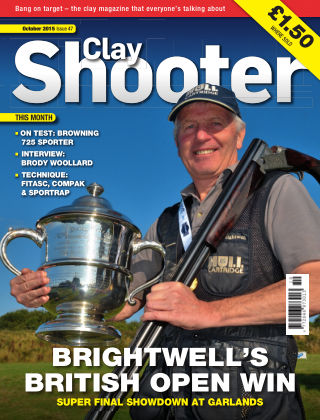 Clay Shooter October 2015