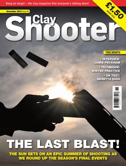Clay Shooter October 21, 2015 00:00