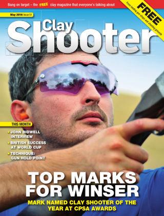Clay Shooter May 2016