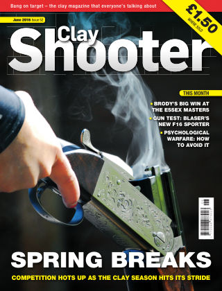 Clay Shooter June 2016