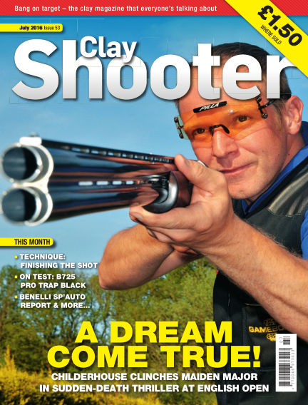 Clay Shooter June 22, 2016 00:00
