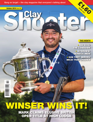 Clay Shooter October 2016