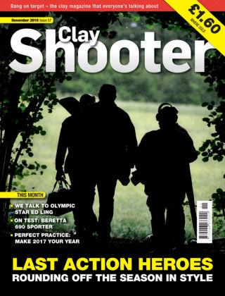 Clay Shooter November 2016